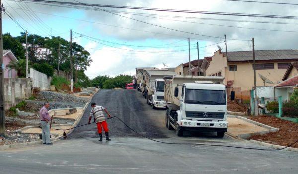 Cinco vias de Palmeira serão pavimentada nos próximos dias