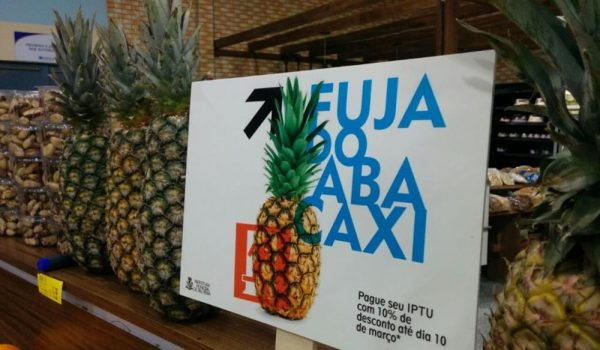 Prefeitura inova com campanha de marketing em supermercado