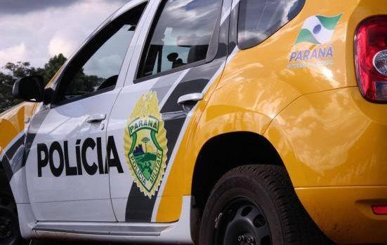 PM atende furto de botijão de gás no Rocio II