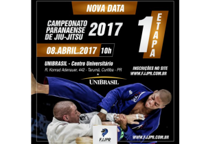 Palmeirenses participam de Campeonato Paranaense de Jiu Jitsu