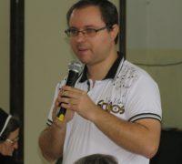 Seminarista Daniel da Silva.