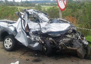 Gravíssimo acidente com morte deixa BR 277 interditada nesta manhã em Palmeira
