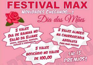 Confira os ganhadores do Festival Max especial Dia das Mães