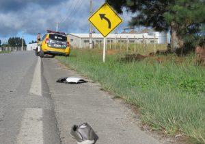Palmeirense morre atropelado na PR 151
