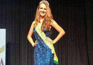 Modelo palmeirense recebe o titulo de Miss Teen Brasil