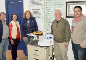 Doações de equipamentos de saúde foram entregues ontem à Santa Casa