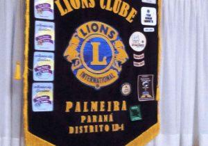 Posse da nova diretoria do Lions Clube