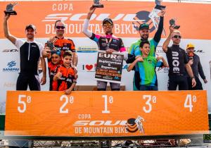 Ciclistas palmeirenses participaram da Copa Sul de Mountain Bike com bons resultados