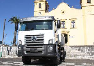 Palmeira é contemplada com caminhão 0 km que integrará a frota para manutenção de vias rurais
