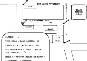 Confira por onde passará a procissão de Corpus Christi