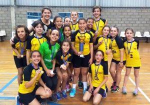 Nova geração do Handebol de Palmeira conquista título na Copa Sepam