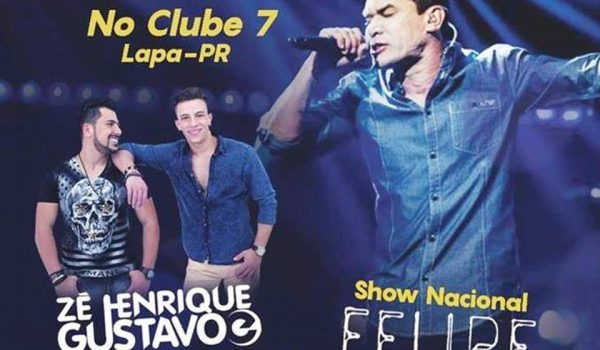 Show beneficente com Felipe Duran, em prol do pequeno Bernardo