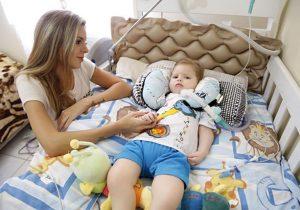 Campanha pretende ajudar no tratamento de um menino portador de Atrofia Muscular Espinhal (AME)do tipo 1