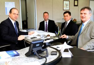 De Brasília, prefeito Edir e vice Marcos anunciam novos recursos para Palmeira