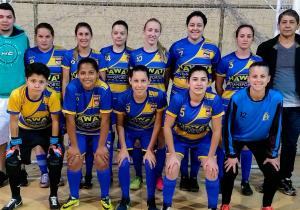Seleção Feminina de Futsal de Palmeira goleia por 13 a 2 na Copa Cidade