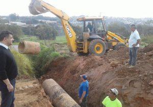 Secretarias trabalham em parceria para levar melhorias ao Distrito Industrial