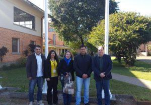 Vice prefeito reuni-se com diretor da UTFPR buscando mais cursos para Palmeira