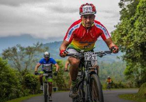 Palmeirense participou do Desafio Morretes de Ciclismo de Estrada e Mountain Bike