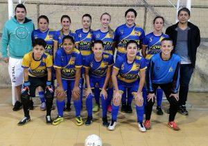 Futsal feminino de Palmeira conquista mais uma goleada na Copa Cidade