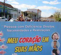 Caminha da APAE -Semana Nacional da Pessoa com Deficiência Intelectual e Múltipla 2017.