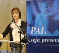 Secretária da Família e Desenvolvimento Social Fernanda Richa, participa da abertura do evento Agosto Azul no auditório Mário Lobo -Foto:Rogério Machado/SECS.
