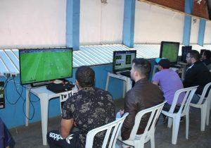 Palmeira recebe jogadores de várias regiões do Paraná em seletiva para o Campeonato Brasileiro de Futebol Digital