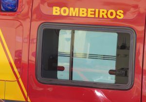 Bombeiros atenderam ocorrência de queda de moto
