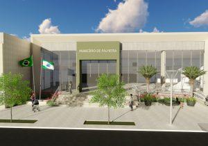 Projeto inovador prevê novo Centro Cívicoe avanço econômico para o município