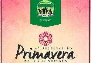VPA promove em outubro a 4ª edição do Festival da Primavera