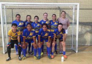 Seleção de futsal feminino está classificada para final da Copa Cidade