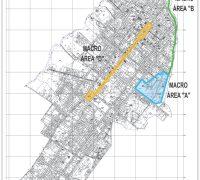 Mapa das intervenções.