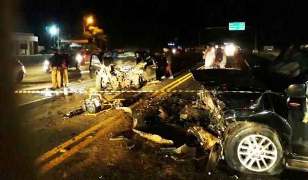 Grave acidente na BR 277 em Palmeira