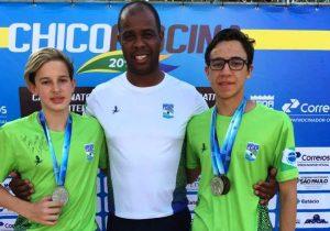 Palmeirenses ganham medalha em Mococa (SP)