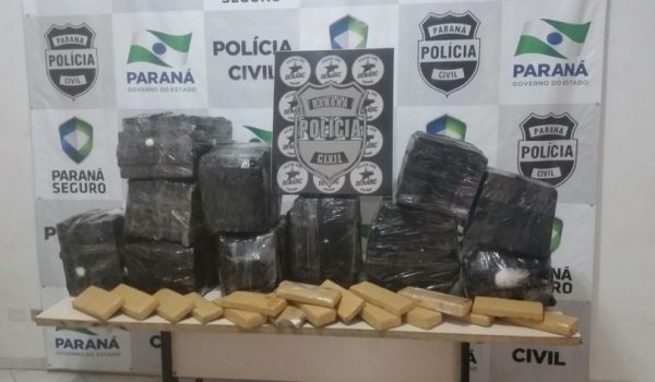 Polícia prende homem com 270 quilos de maconha em pedágio de Palmeira