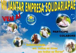 7º Jantar Empresa Solidariapae será na comunidade do Lago
