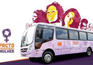 Duas localidades recebem unidade móvel com ações voltadas às mulheres