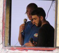 Transmissão ao vivo pela Rádio Ipiranga.