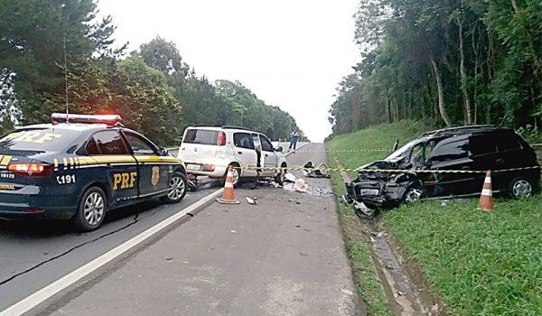 Mulher de 36 anos morre em acidente na BR 277 em Palmeira