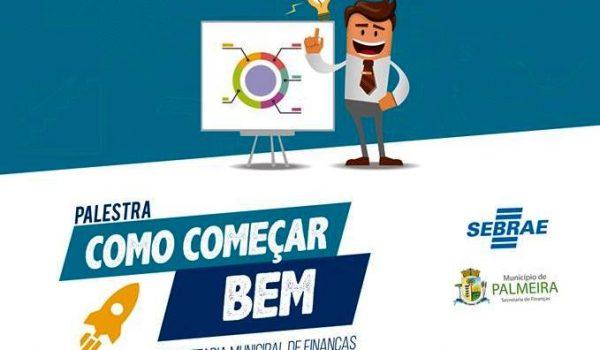Palestra do Sebrae apresentará orientações e informações para microempreendedores individuais