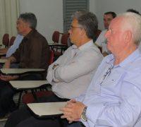 O Promotor de Justiça, Doutor Antonio Carlos Nervino e o Vereador João Alberto Ferreira da Costa (Gaiola)estiveram presentes.