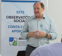 Presidente do Observatório Social do Brasil (OSB), Ney da Nóbrega Ribas.