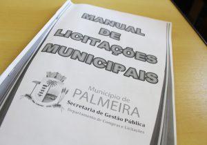 Prefeitura de Palmeira cria Manual de Licitações para estimular participação de empresas locais