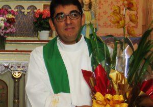 Padre Marcondes será Pároco no Santuário Nossa Senhora do Carmo, em Curitiba.