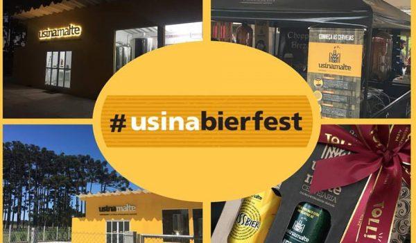 Usina Bierfest comemora inauguração da cervejaria Usinamalte em Witmarsum