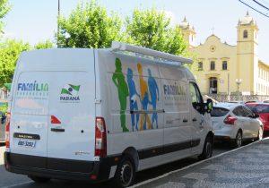 Secretaria recebe veículo adaptado do Governo do Estado