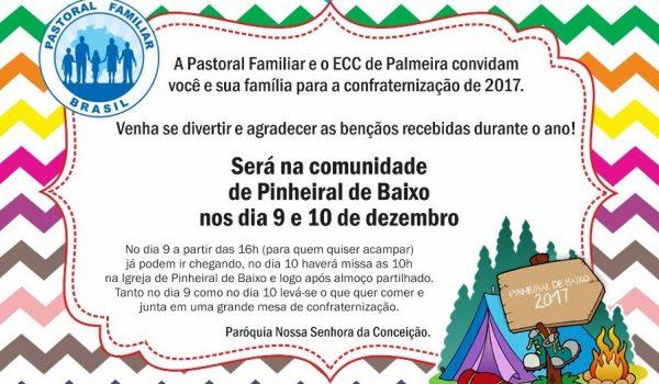 Pastoral Familiar e ECC promovem confraternização 2017
