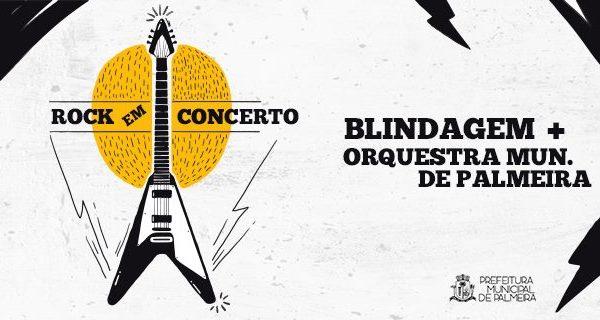 Orquestra Municipal de Palmeira e Blindagem apresentam 'Rock em Concerto' no sábado