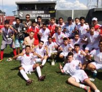 Ypiranga Futebol Clube sub 17 -Campeão do Campolarguense 2017.