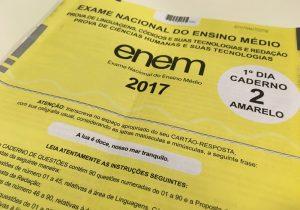 INEP divulgou o resultado do ENEM nesta manhã