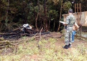 Polícia Ambiental realizou três fiscalizações em Palmeira na última segunda-feira